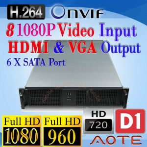 NVR Network Video Recorder NR708 HD 1080P 960P 720P