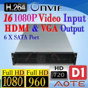 NVR Network Video Recorder NR716 HD 1080P 960P 720P