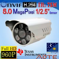 W5615P-B HD 960P 5MP H.264 IP Camera ONVIF
